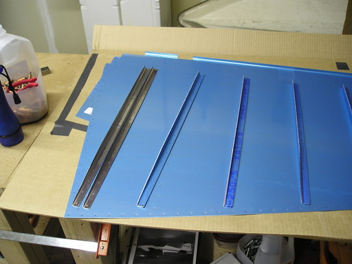 Rudder stiffeners cut out